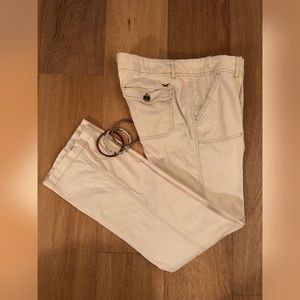 HOLLISTER So Cal Stretch Cream Brushed Cotton Pant